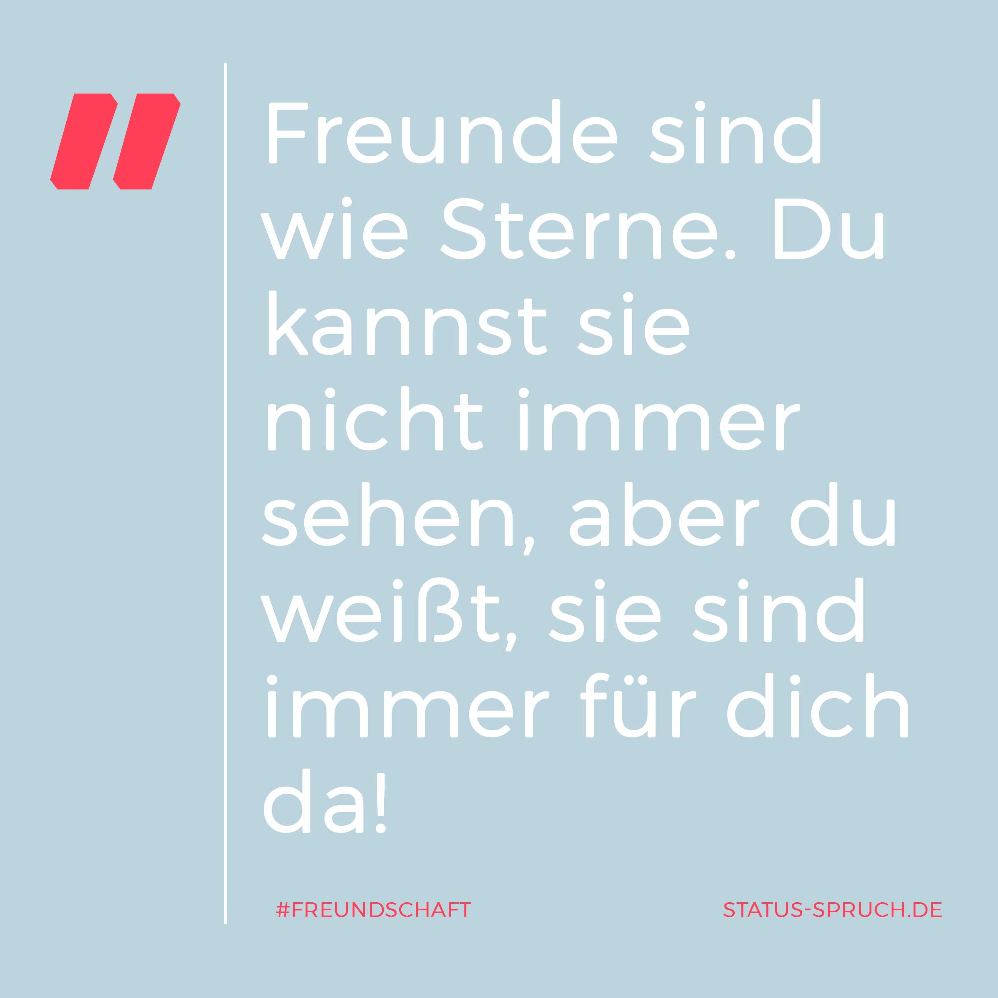 Sprüche über Freundschaft auf status-spruch.de