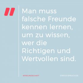 status-spruch.de Freundschaft