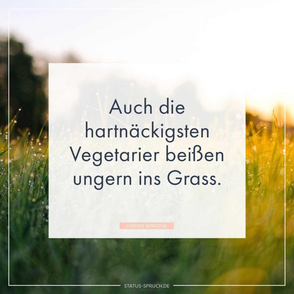 Auch Die Hartnackigsten Vegetarier Beissen Ungern Ins Grass