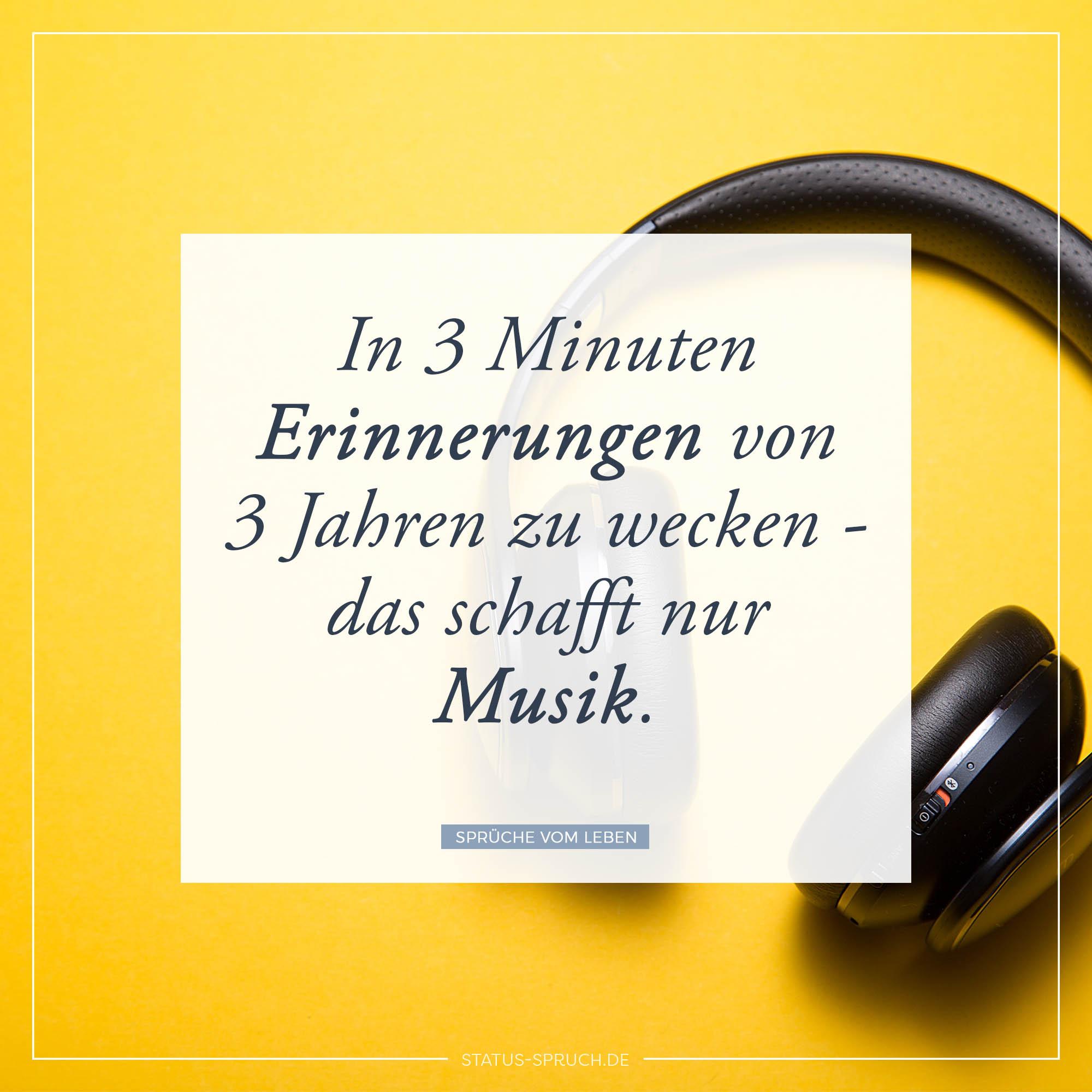 Musik Sprüche WhatsApp