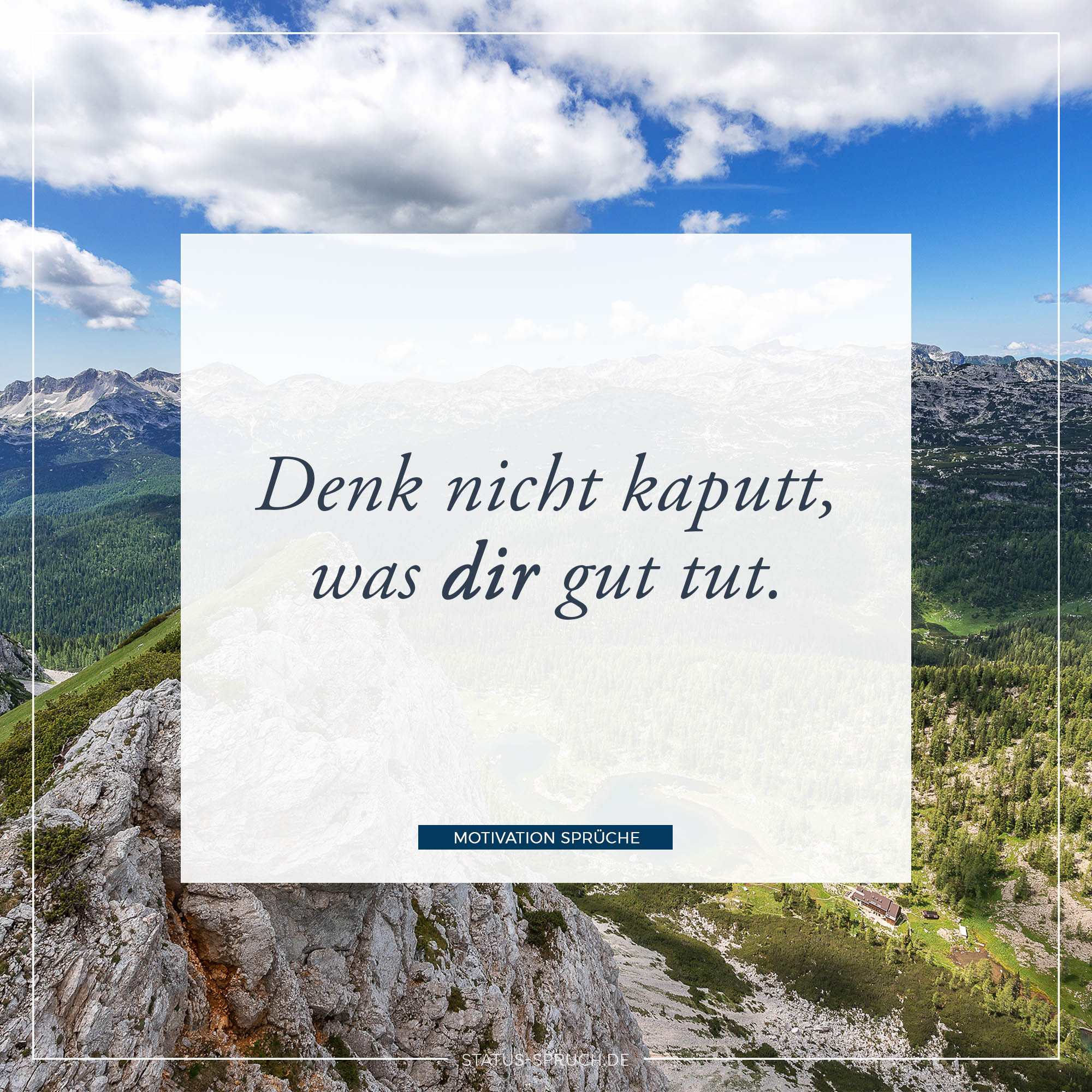 WhatsApp Status Motivation zum Nachdenken