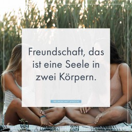 Freundschaft Sprüche